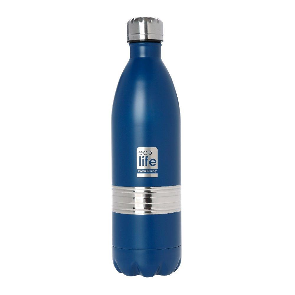 Blue Thermos 1lt