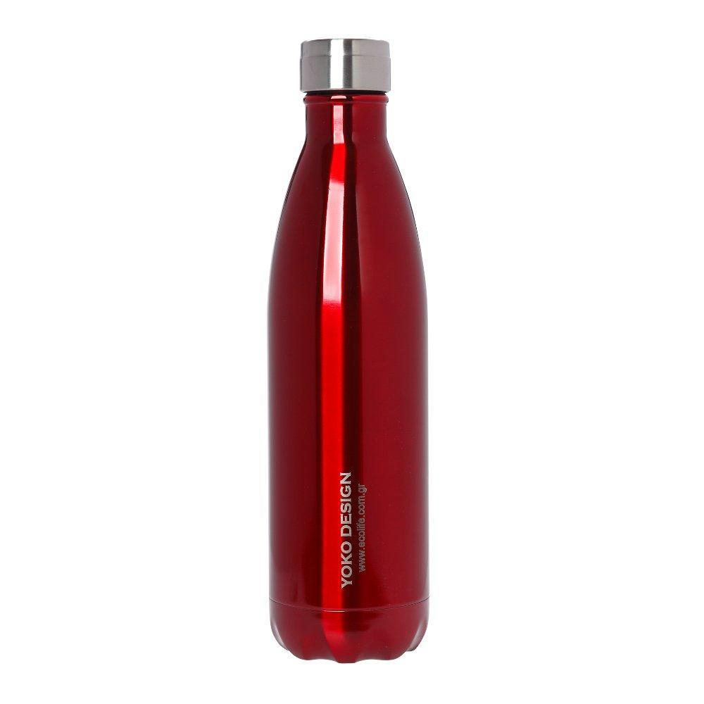 Red Thermos 750ml - Yoko design- Limited edition