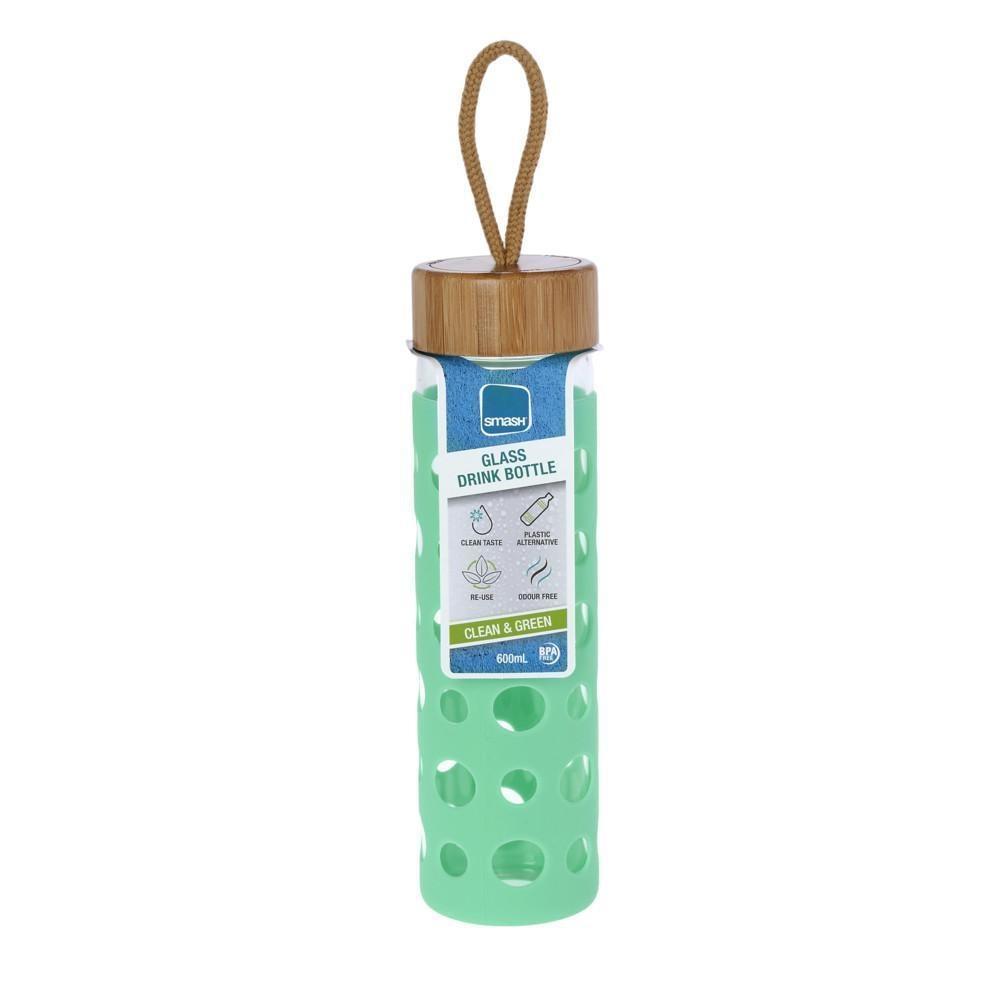 Γυάλινο Μπουκάλι Smash 600ml (Mε προστατευτικό κάλυμμα σιλικόνης)