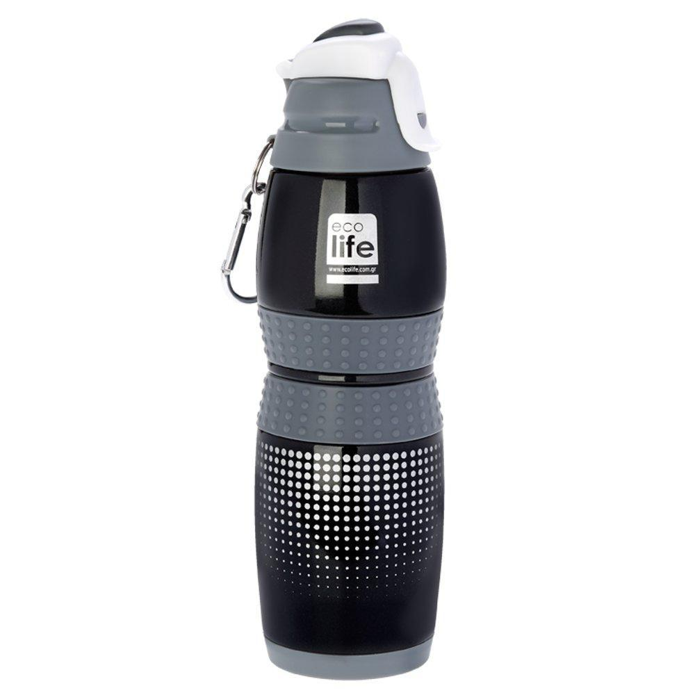 Black Thermos Bottle 400ml