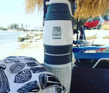 Ecolife on the beach!
